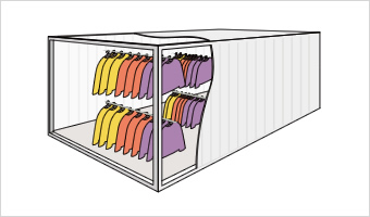 HANGER CONTAINER (ハンガーコンテナ)